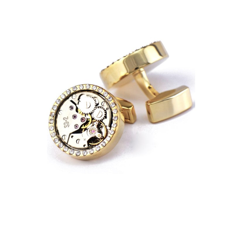 Quality Mechanical Watch Movement Cufflinks - Theodore Designs