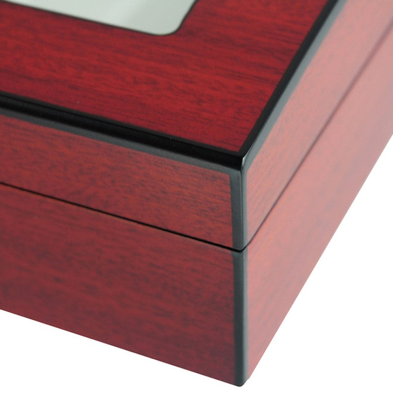 High-end Handmade Cherry Wooden 10 Pen Box Packaging Box for Storage - Theodore Designs