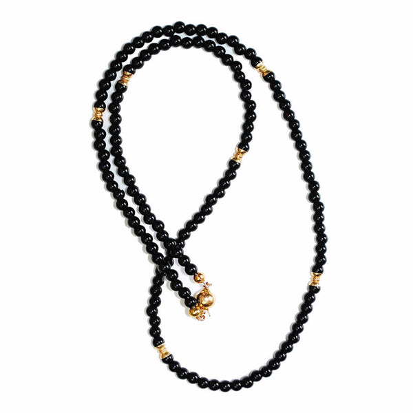Theodore Black Onyx Necklace - Theodore Designs