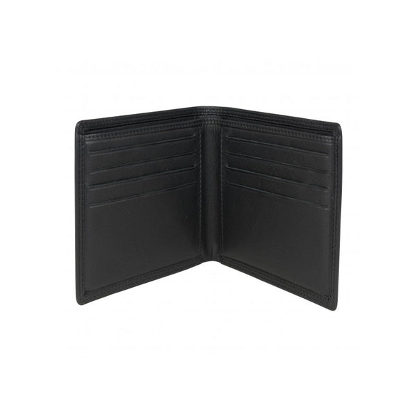 David Aster Brown Leather Billfold Wallet