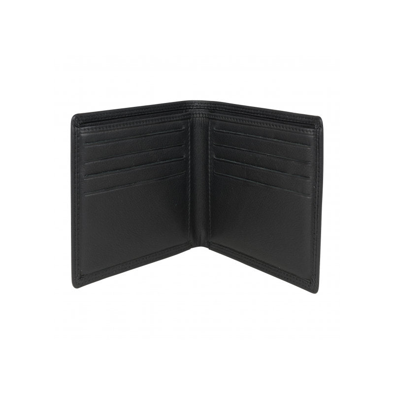 David Aster Brown Leather Billfold Wallet - Theodore Designs