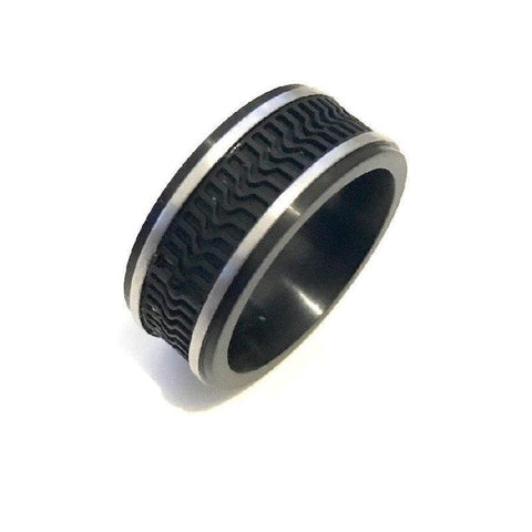 Stainless Steel  and Rubber Ring - Theodore Designs