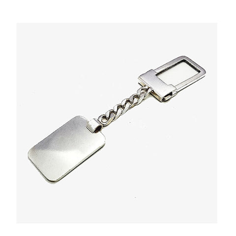 Theodore Sterling Silver Key Chain - Theodore Designs