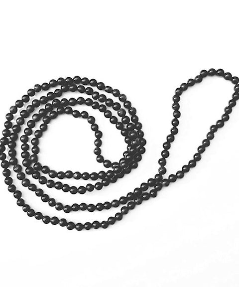 Theodore Beaded Black Coral Necklace - Theodore Designs