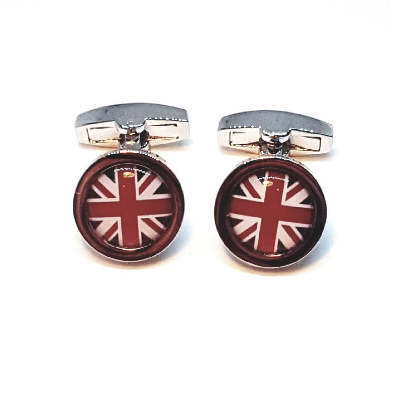 Cudworth British Flag Cufflinks - Theodore Designs