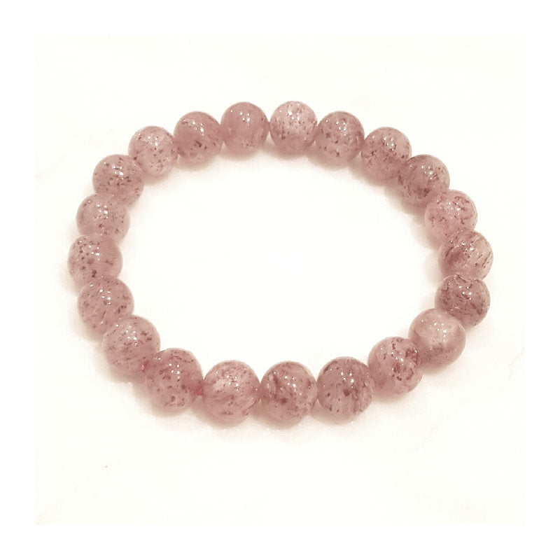 Theodore Mica Quartz Crystal  Beaded Bracelet - Theodore Designs