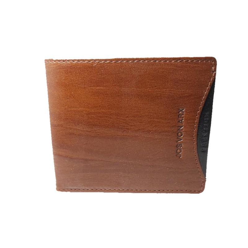 Jos Von Arx Brown Wallet and Pen Set - Theodore Designs