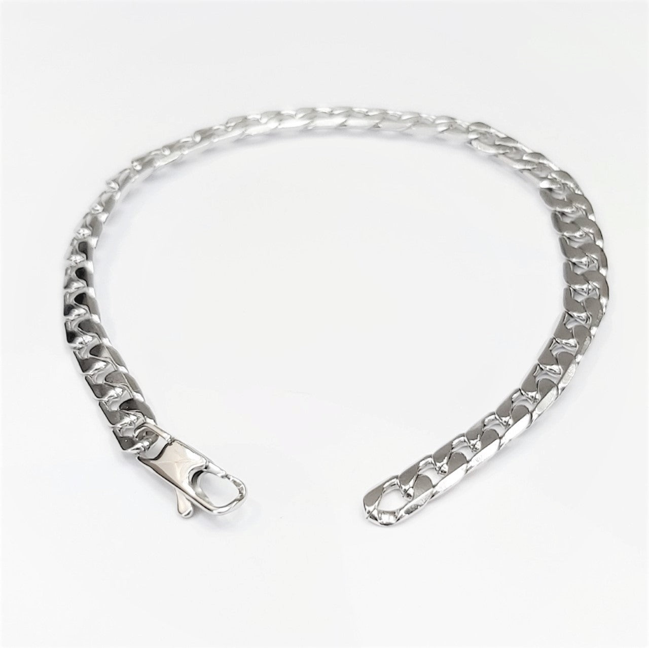 Stainless Steel Curb Link Bracelet - Theodore Designs