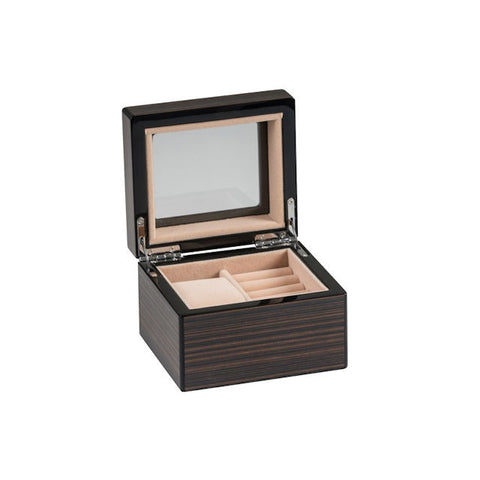 Wien Walnut Finish Watch and Cufflink Box - Theodore Designs