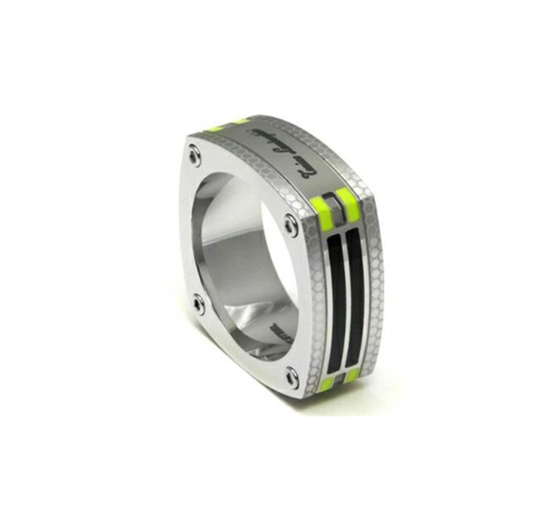 Tonino Lamborghini Stainless Steel Carbon Fiber Ring - Theodore Designs
