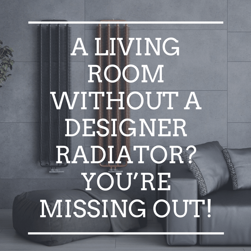 A living room without a designer radiator? You're missing out!