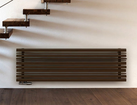terma sherwood horizontal brown designer radiator