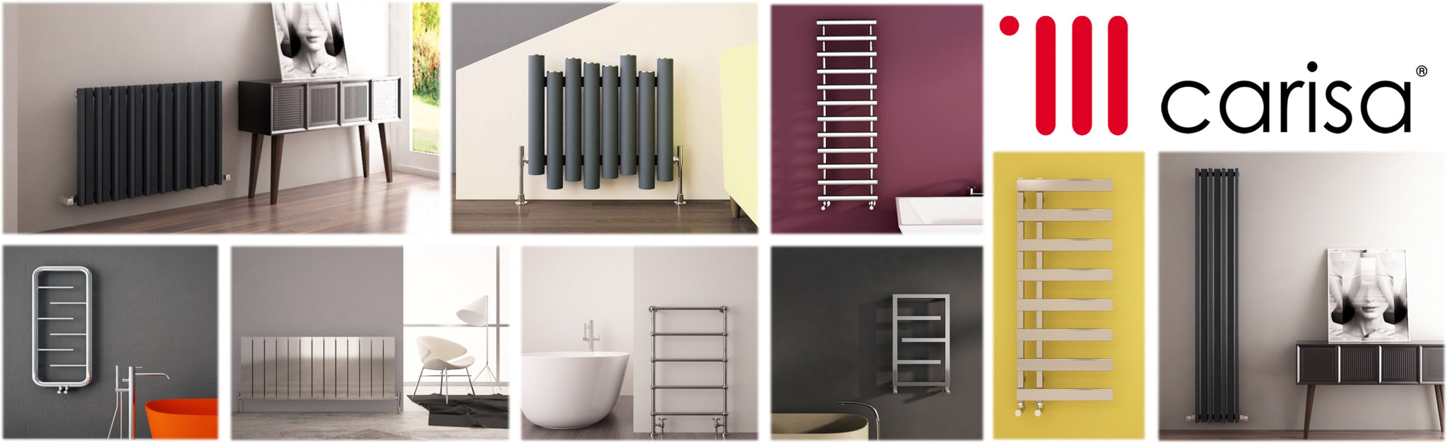 Carisa Radiators Designer Towel Rails