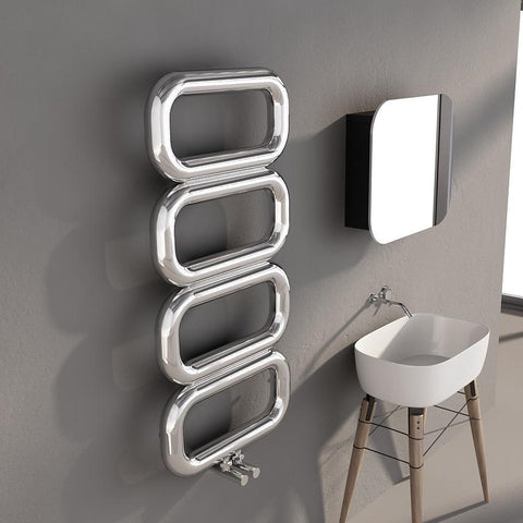 Carisa Talent Designer Radiator Stainless Steel Designer Towel Rail