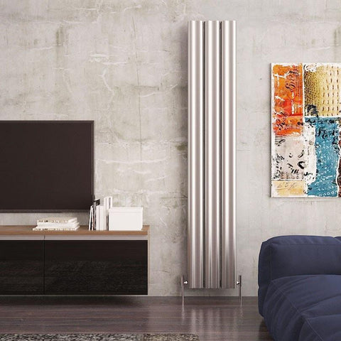 carisa wave vertical designer radiator
