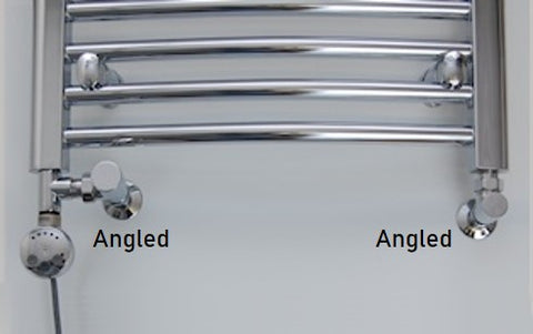 dual fuel towel rail angled