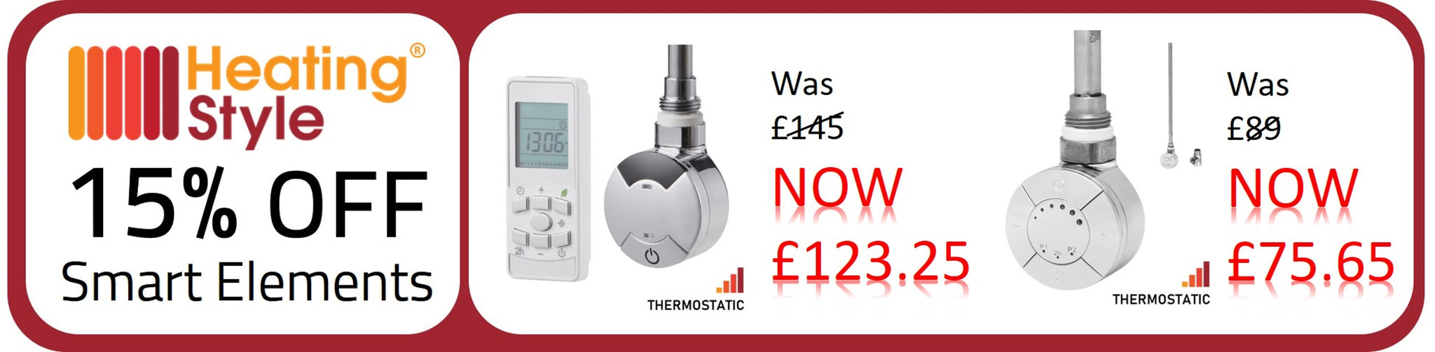 heating style smart thermostatic element sale