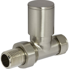 Heating Style Round Radiator Valves Per Pair