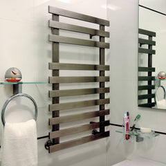 Accuro Korle Daisy Designer Bathroom Towel Radiator Towel Rail Warmer Stainless Steel Contemporary Stylish Modern Heating Design