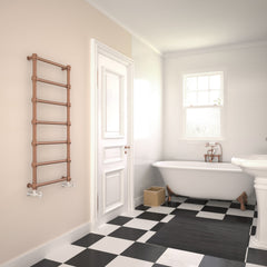 Terma Retro Traditional Copper Pipe Radiator Towel Warmer Ladder Rail Stylish