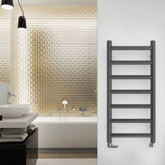 Heating Style Terma Crystal Designer Radiator Towel Rail Warmer Ladder Rail Modern Grey Contemporary Heating