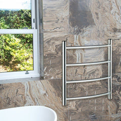 Calcot Designer Dry Electric Towel Rail