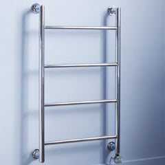 Ballymore Electric Thermostatic Chrome Designer Towel Rail