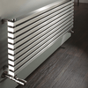 Accuro Korle Cadence Horizontal Stainless Steel Radiator High Heat Output High Quality Efficient Stylish Modern Contemporary Heating Design