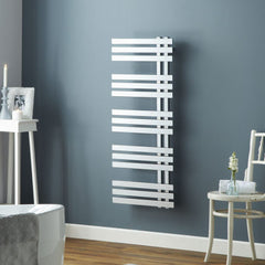 HeatQuick Brunswick Chrome Designer Towel Rail | Modern Bathroom Radiator