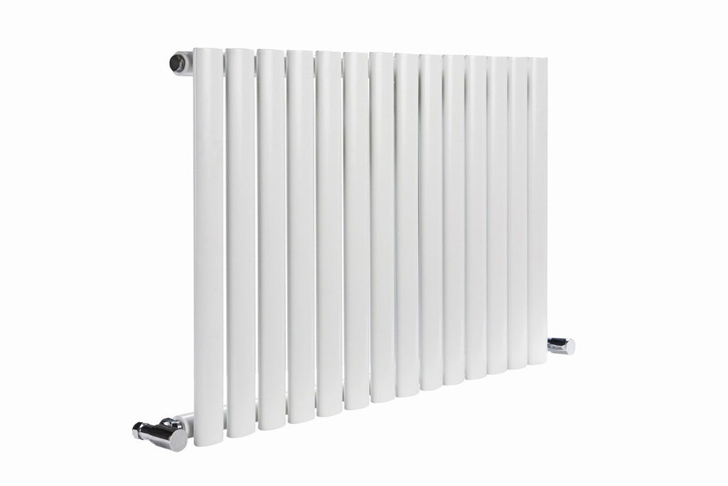 DQ Cove Single White Horizontal Radiator