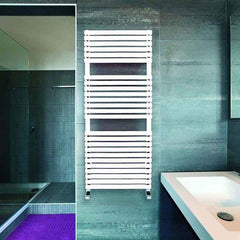 DQ Cube White Towel Radiator