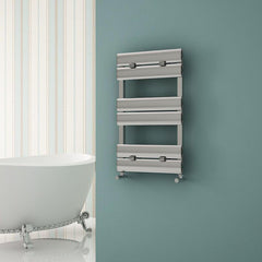 Carisa Elliptic Bath Aluminium Towel Rail | Designer Bathroom Radiator