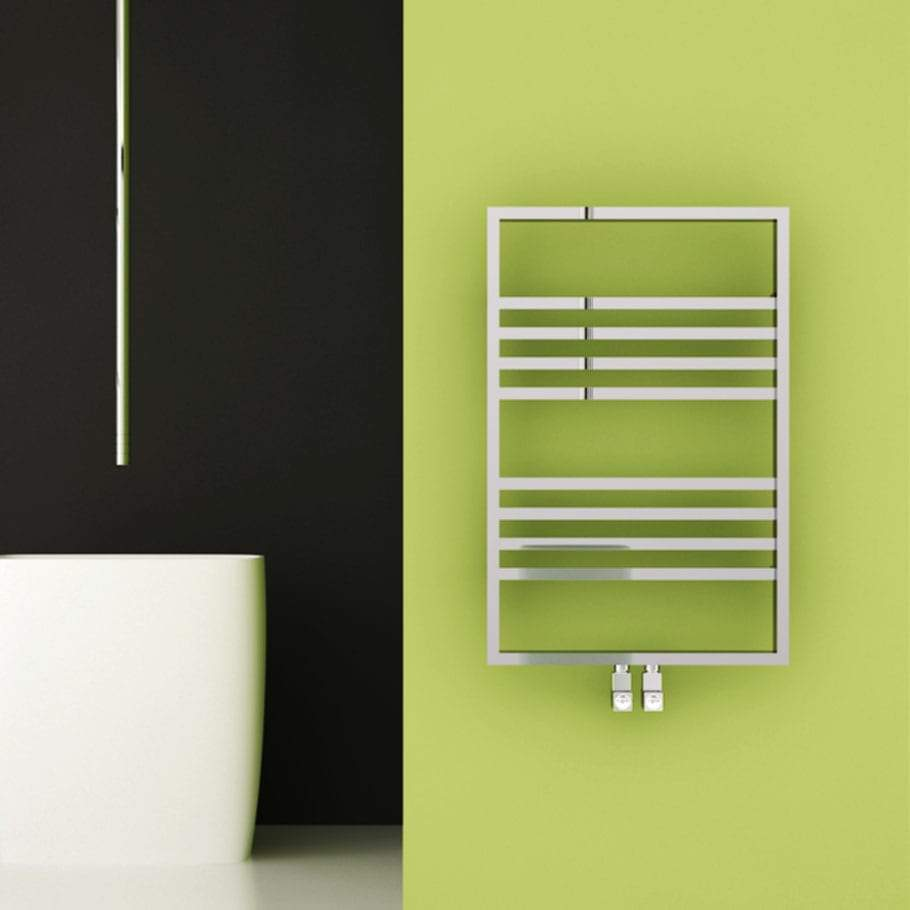 Carisa Frame Chrome Towel Rail | Designer Bathroom Radiator