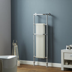 HeatQuick Yew Traditional Victorian Designer Towel Rail