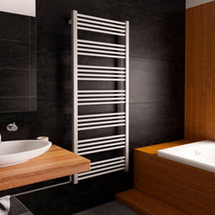 Heating Style Terma Fiona Electric Radiator Towel Rail Warmer ONE electrical heating element ladder rail sparkling gravel modern contemporary stylish