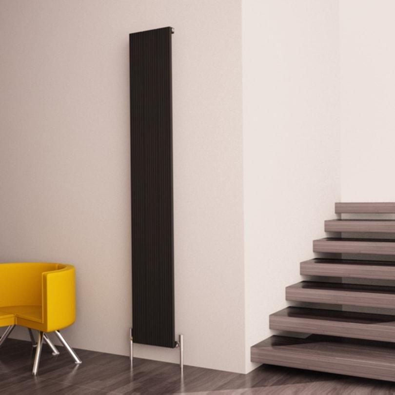 Carisa Monza Single Aluminium Vertical Radiator | Space Saving Radiator