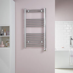 HeatQuick Birch Chrome Electric Designer Towel Rail
