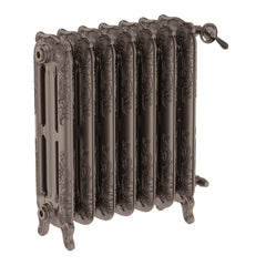 Terma Oxford Cast Iron Traditional Victorian Radiator 710 Metallic Brown Column Radiator Art Stunning Hand Crafted