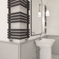 Terma Outcorner Radiator | Corner Radiator | Space Saving Towel Rail
