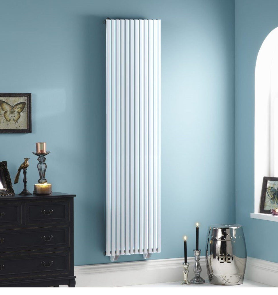 Towelrads Oxfordshire White Vertical Designer Radiator | High BTU Output Radiator