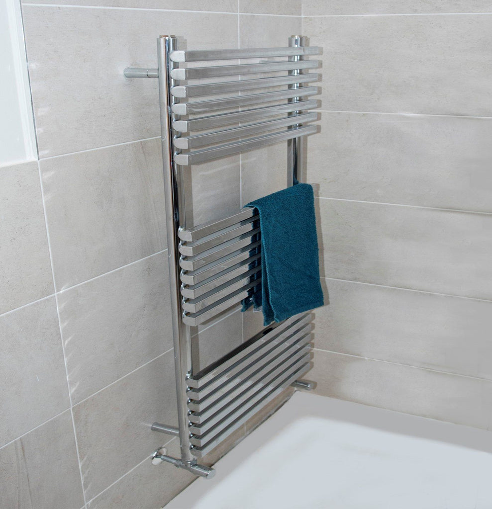Oxfordshire Vertical Designer Towel Rail | Ladder Style Towel Warmer