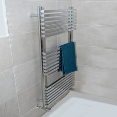 HeatQuick Aspen Vertical Designer Towel Rail | Ladder Style Towel Warmer