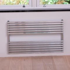 HeatQuick Aspen Horizontal Designer Towel Rail | Ladder Style Towel Warmer