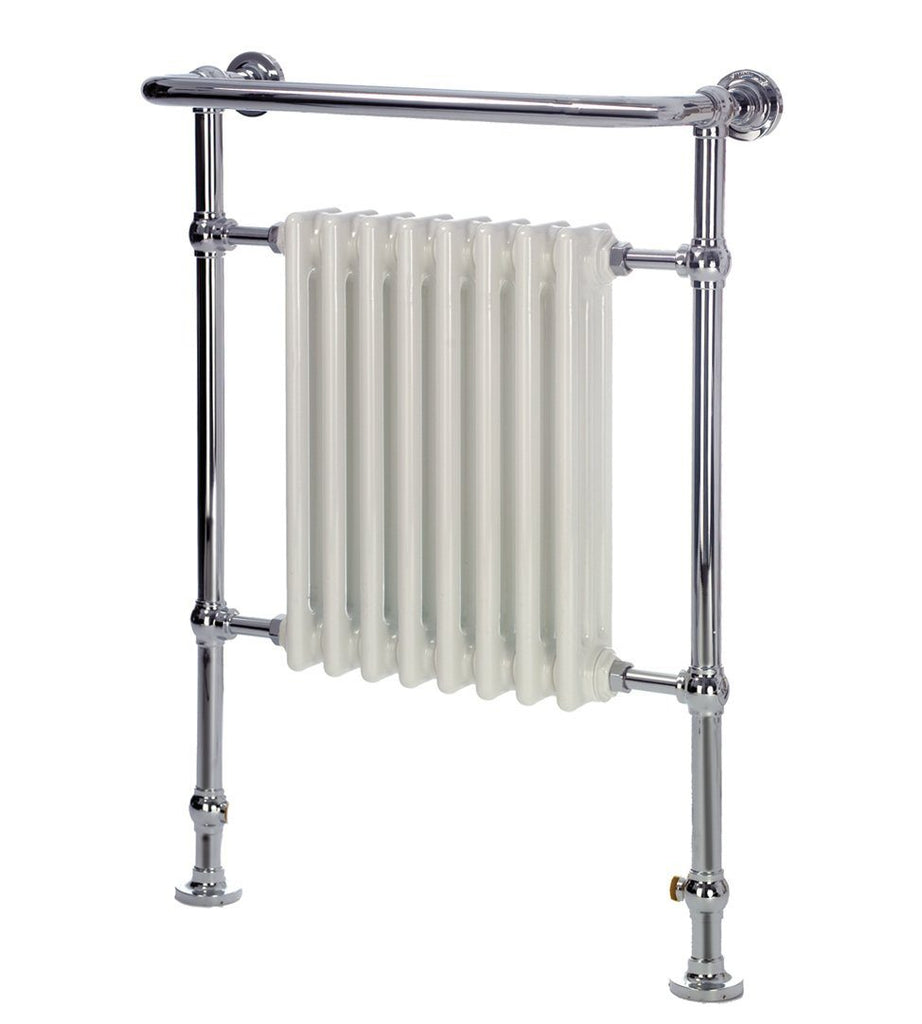 HeatQuick Poplar Traditional Victorian Towel Rail