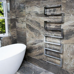Towelrads Thatcham Chrome Designer Vertical Radiator
