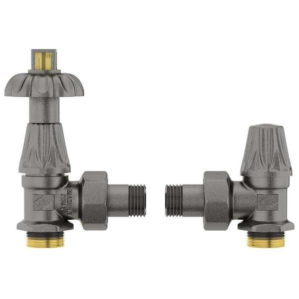 Terma Artistic Valve Set Lock Shield and Thermostatic Valves