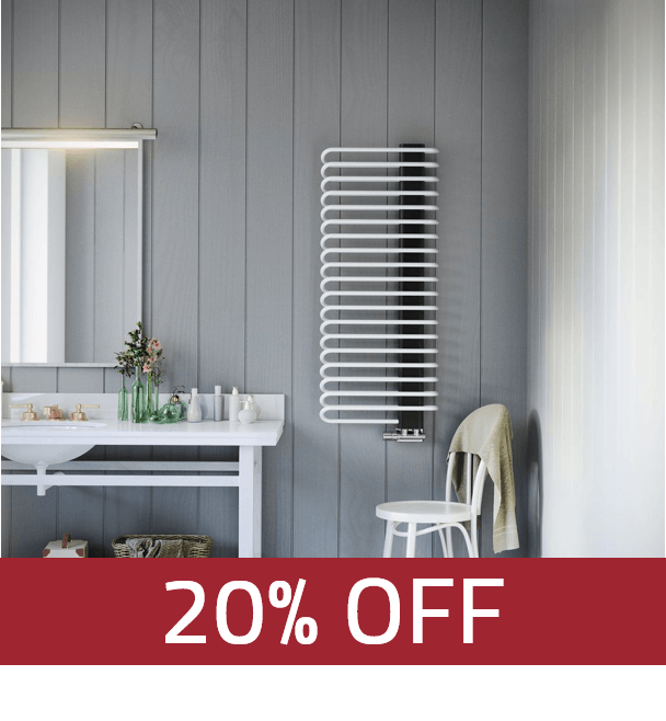 Terma Michelle Designer Towel Rail Radiator- Clearance (Selected Sizes & Colours)