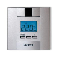 Terma DTIR chrome electric element infrared Daily controller