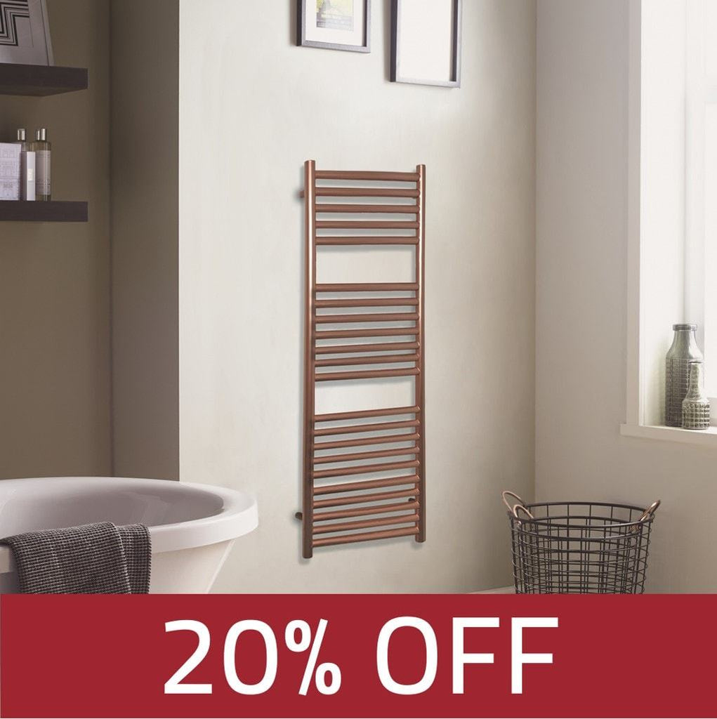 HeatQuick Joanna Towel Rail | Ladder-Style Bathroom Radiator