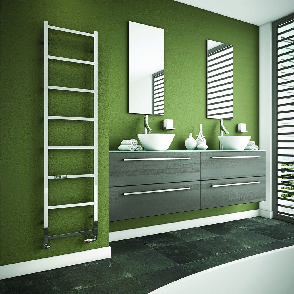 DQ Liana Polished Stainless Steel Towel Radiator